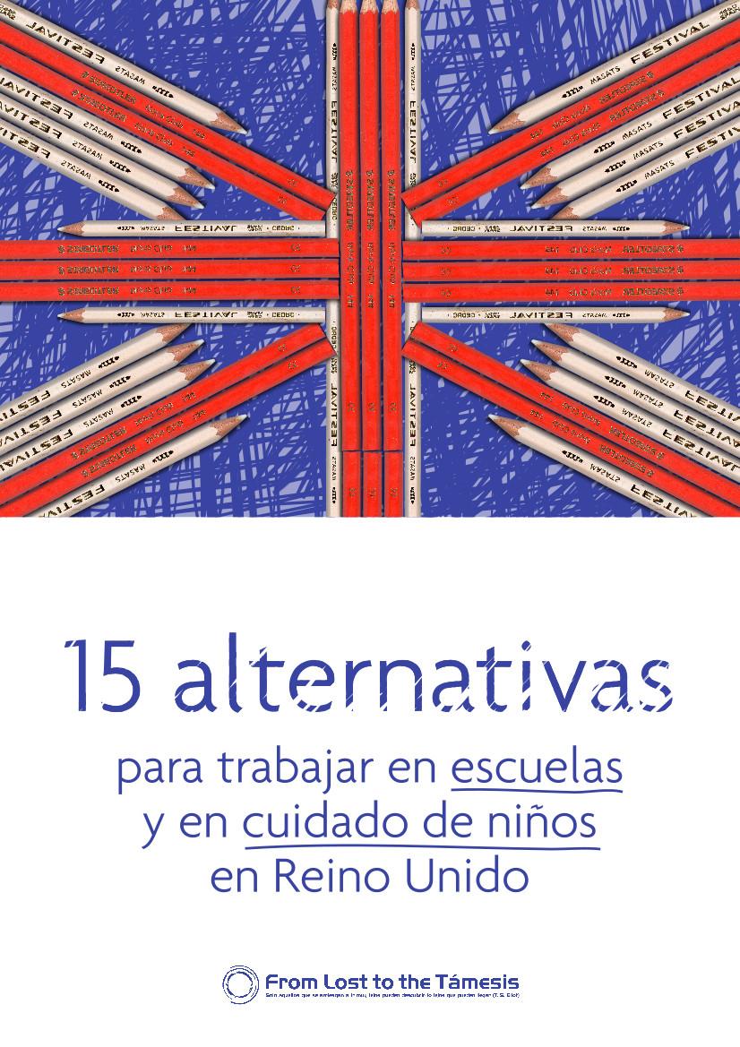 portada 15 alternativas para trabajar en escuelas y en cuidado de niños en Reino Unido