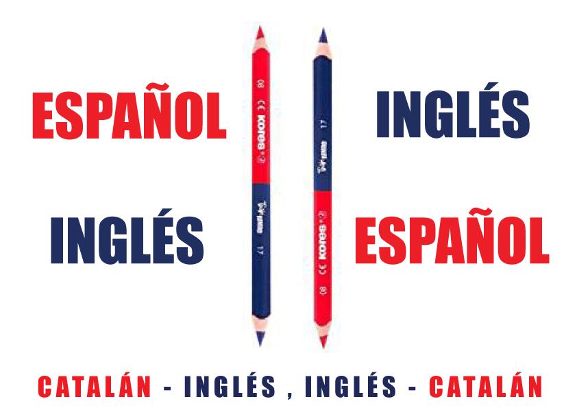 traducción español-inglés, catalán-inglés